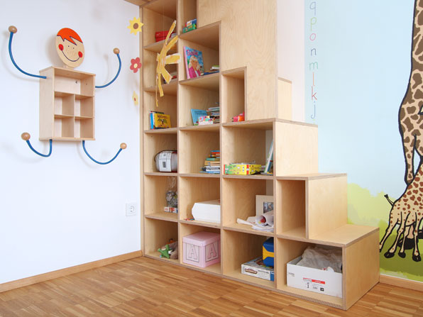regal treppe kinderzimmer bibkunstschuur. Black Bedroom Furniture Sets. Home Design Ideas